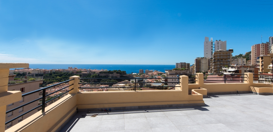 Location Appartement Monaco Penthouse en duplex - Jardin Exotique - PALAIS DU PRINTEMPS