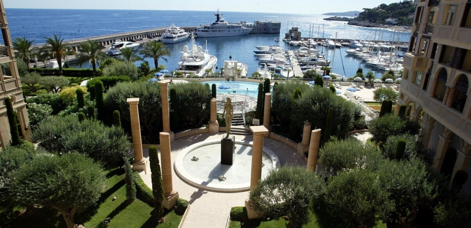 Location Appartement Monaco Vue port de Cap d'Ail - SEASIDE PLAZA