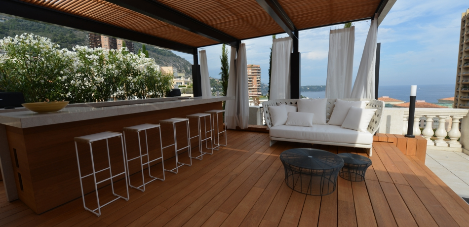 Vente Appartement Monaco Magnifique penthouse contemporain - ATLANTIS