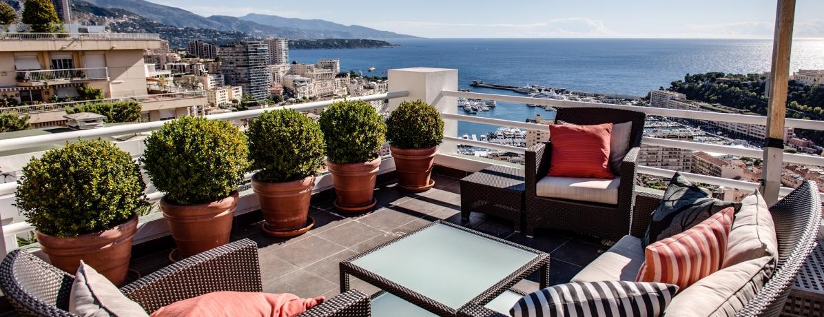 Vente appartement monaco magnifique penthouse 6 pi ces - Immobilier de luxe penthouse manhattan ...